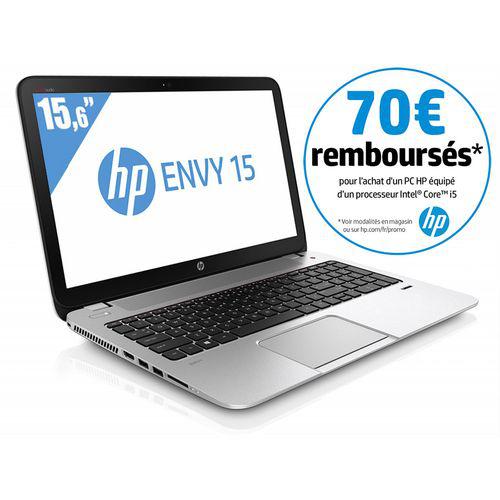 HP Envy de 15 pouces avec un Core i5 : 399 €, via une ODR de 70 euros