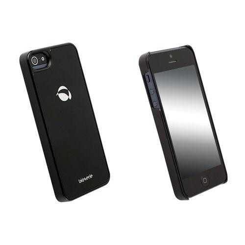 Coque arrière bio glass Krusell pour iPhone 5 - Noire
