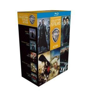 Coffret 5 Blu-Ray Action 90ans Warner