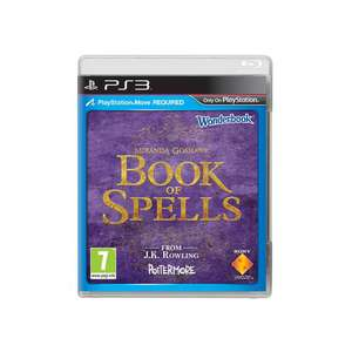 Books of Spells + Wonderbook sur PS3 (Move)