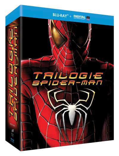 Coffret Blu-ray Trilogie Spider-man
