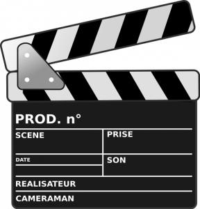 Projection gratuite de films, en plein air.