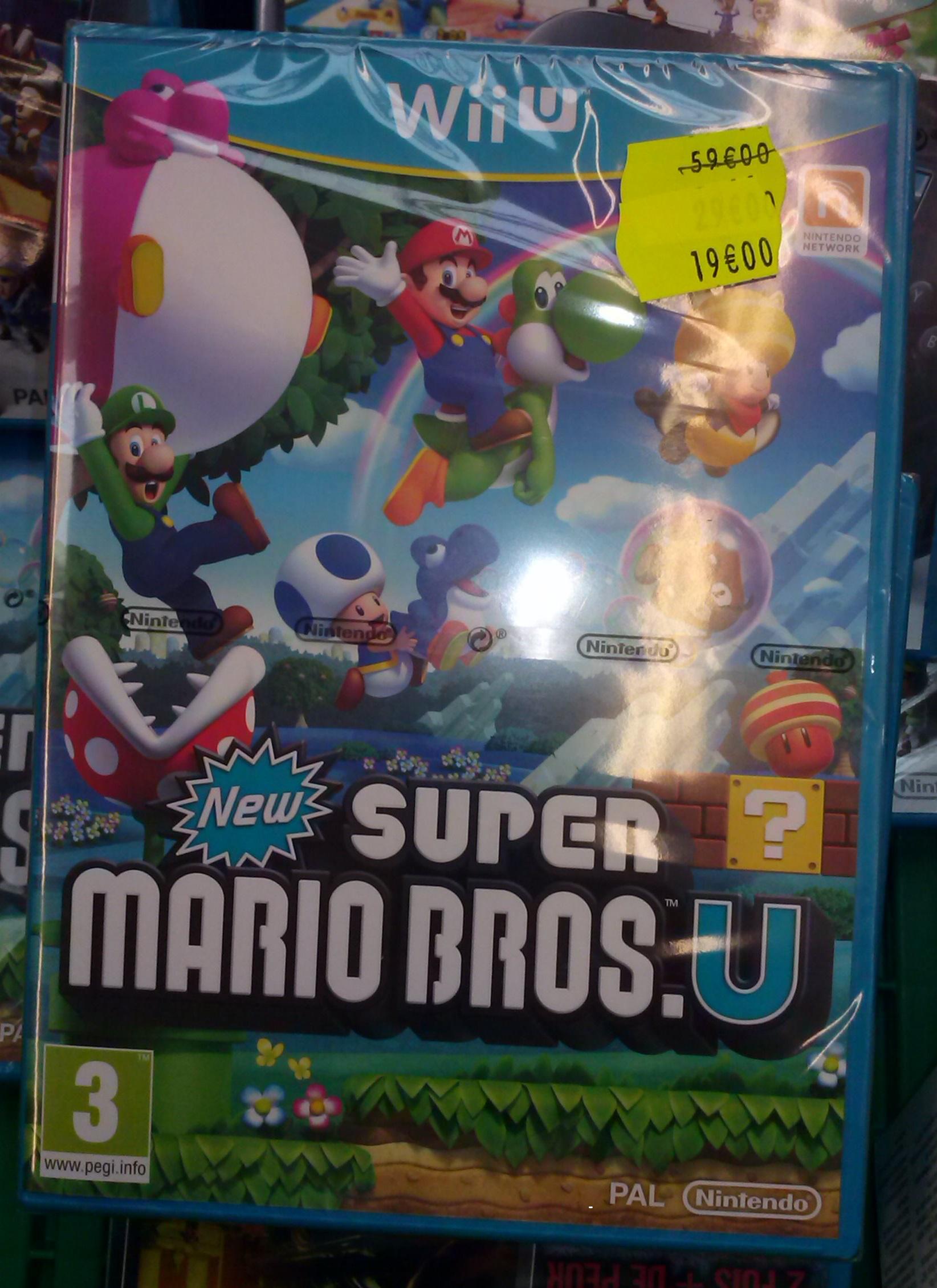 New Super Mario Bros.U pour console Nintendo Wii U