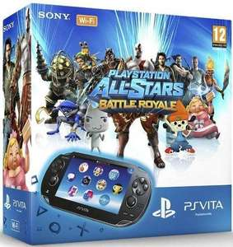 Pack Console PS Vita + carte mémoire 4Go+ Jeu Playstation All Star