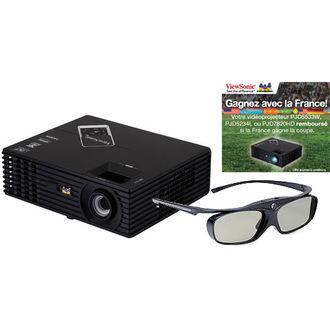 Videoprojecteur DLP Viewsonic PJD7820HD Full HD 3D + Lunettes 3D PGD-350 offertes