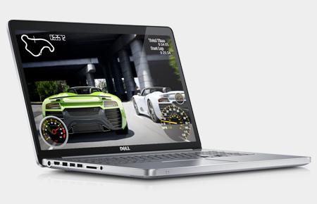 "PC Portable 17,3"" Dell Inspiron: i7-4500U, GT 750M 2 Go, 16 Go RAM, 1 To, Full HD, W8"