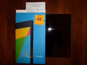 Tablette Asus Nexus 7 32go (version 2013)