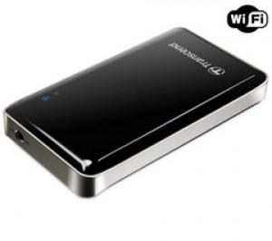 Transcend SSD externe portable StoreJet Cloud WiFi - 32Go