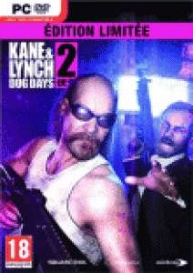 Kane et Lynch 2 Edition Limited PC