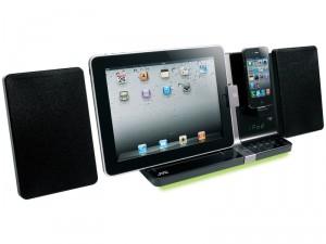 Micro-chaîne CD compacte compatible iPad/iPhone JVC UX-VJ5BE