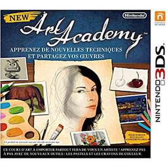New Art Academy sur Nintendo 3DS