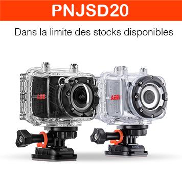 Centralisation de codes promos - Ex : -20% sur les caméras sport