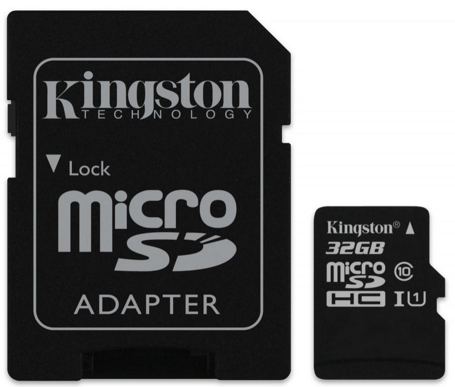 Carte mémoire Kingston microSD 32 Go classe 10