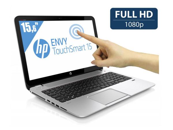 """PC Portable 15.6"""" Tactile HP Envy TouchSmart 15-j099ef - i7 2,4 Ghz, 16 Go RAM, GeForce GT 740M (Avec ODR de 100€)"""