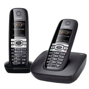 Téléphone sans fil DECT Siemens Gigaset C610 Duo - Noir