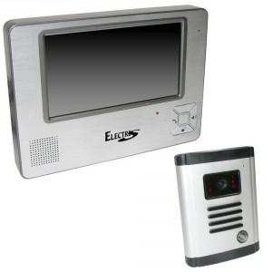 Portier vidéo couleur Electris (Ecran LCD 18cm)