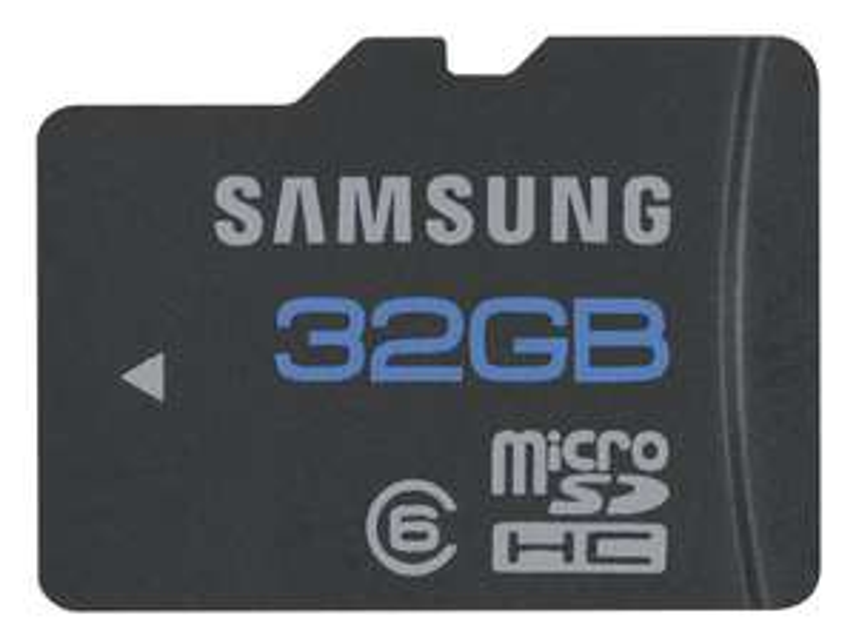 Carte mémoire Samsung  MicroSDHC 32Go - Classe 6