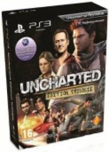 Trilogie Uncharted PS3, frais de port inclus (uniquement dans le panier)