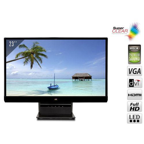 "Ecran PC 23"" Viewsonic - LED Full HD hdmi - Dalle IPS"