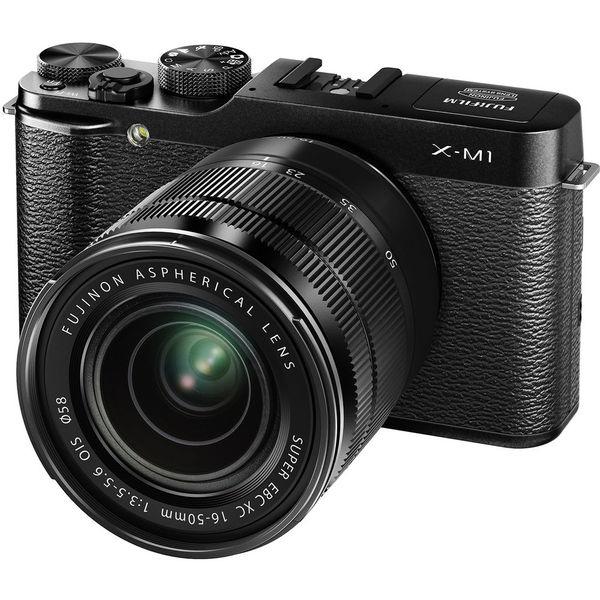 Appareil photo Fujifilm X-M1 noir + XC 16-50mm f/3.5-5.6 OIS