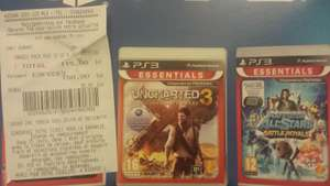 Console PS3 12Go + Gran Turismo 5 + PlayStation All Stars Battle Royale + Uncharted 3