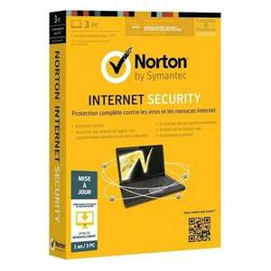 Norton Internet Security (1 An - 3 PC Mises à jour)