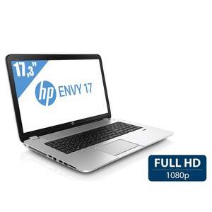 "PC portable 17.3"" HP Envy 17-J106SF - i7-4700MQ, 8 Go DDR3, SSD 24 Go, 1 To, Nvidia GeForce GT 740M, Blu-Ray (avec ODR de 100€)"
