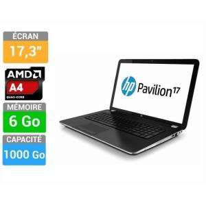 "PC Portable 17.3""HP Pavilion 17-e103sf - AMD Quad-Core A4-5000 APU, 6 Go SDRAM, 1 To HDD"