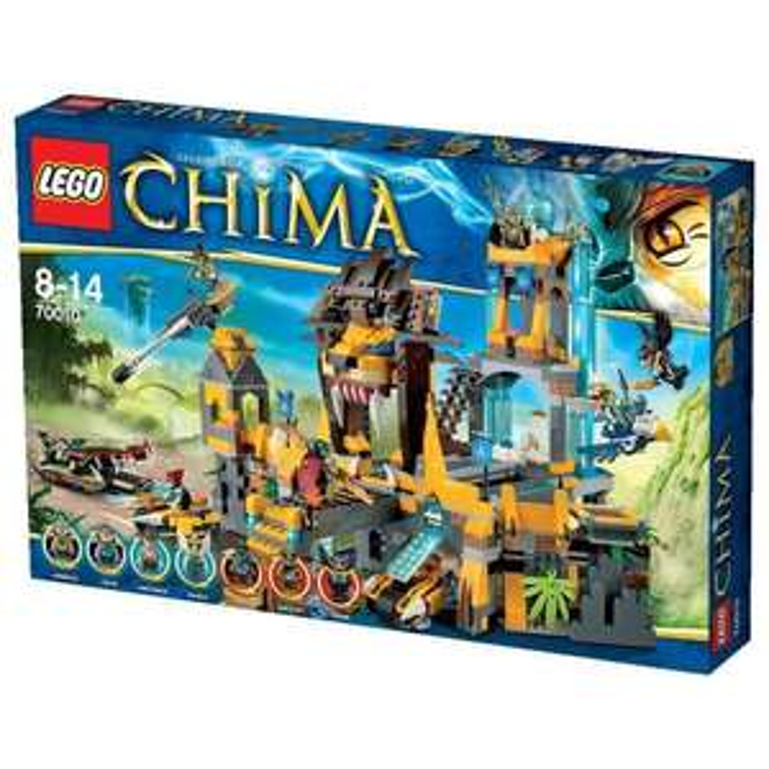 Lego 70010 - Le temple de la tribu Lion