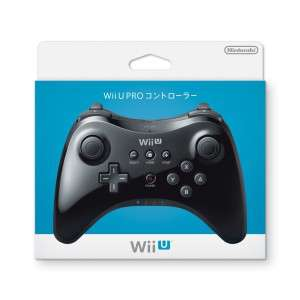 Nintendo Wii U Pro Controller Noir ou Blanc