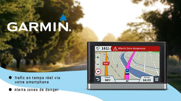 GPS Garmin 2567 LM + MAJ carte et Trafic Live gratuits à vie