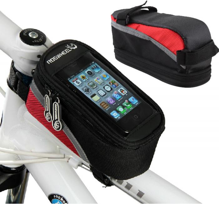 Housse de protection smartphone pour vélo