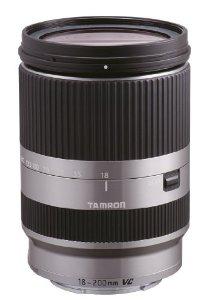 Objectif Tamron 18-200 mm F/3,5-6,3 DiIII VC Argent Boîtier NEX pour Sony