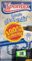 Lavettes / Serpillères Spontex 100% remboursées