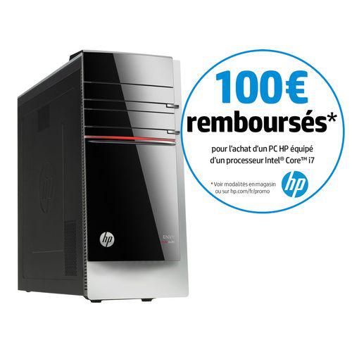 PC de bureau HP Envy 500-288EF - Core i7, RAM 4Go (avec ODR 100€)