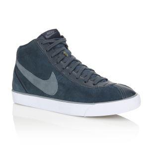 Baskets Nike Cuir Bruin Mid Homme