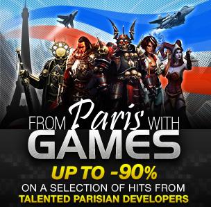 From Paris With Games : Jeux Vidéo de studios parisiens en promotion (voir description)