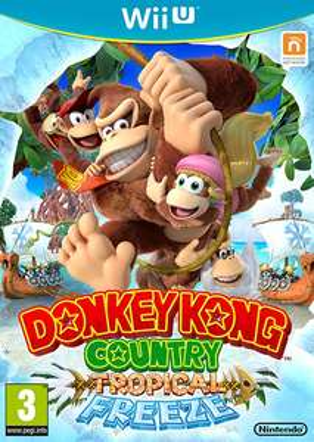 Donkey Kong Country : Tropical Freeze sur Wii U