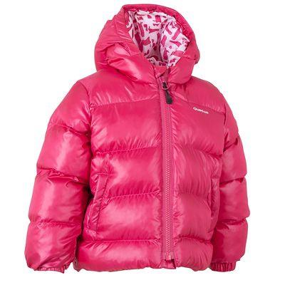 doudoune bébé rose Quechua
