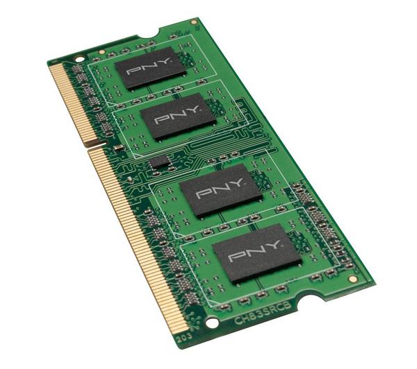 RAM PNY 8 Go DDR3 SODIMM - 1333 MHz / PC3-10660 - CL9 - 1.5 V