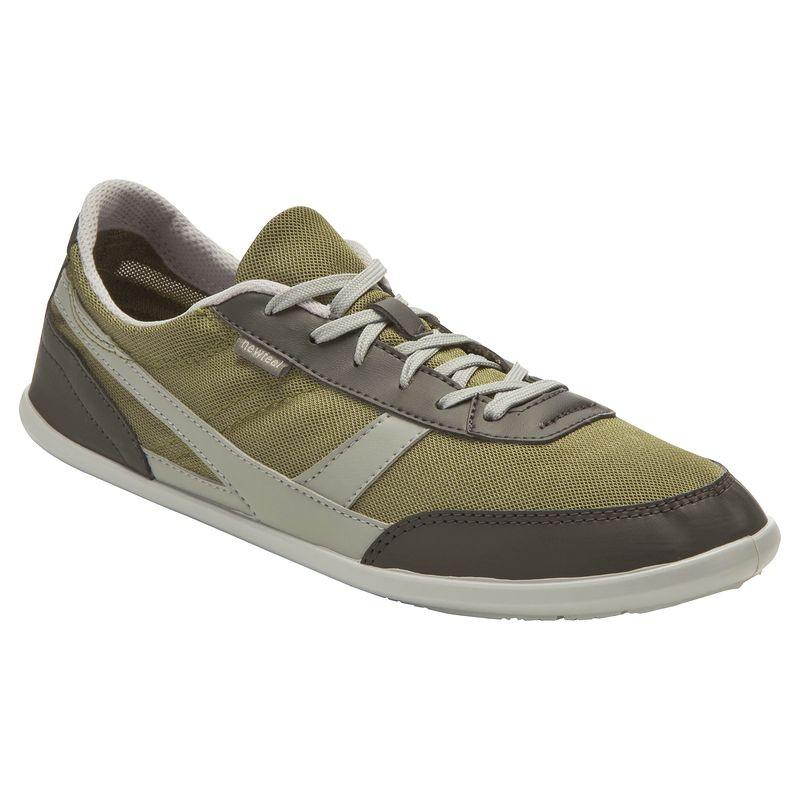 Chaussures marche quotidienne Newfell kaki / gris