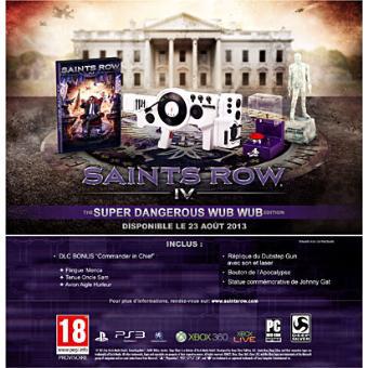 Saints Row 4 sur PC/PS3 - Super Dangerous Wub Wub Edition Collector