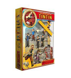 Coffret Collector Figurines Plastoy - 60873 - Tintin le Film