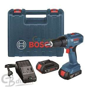 Perceuse viseuse Bosch GSR 1800-LI – 10mm 18V Li-Ion 34Nm 2x1.5ah