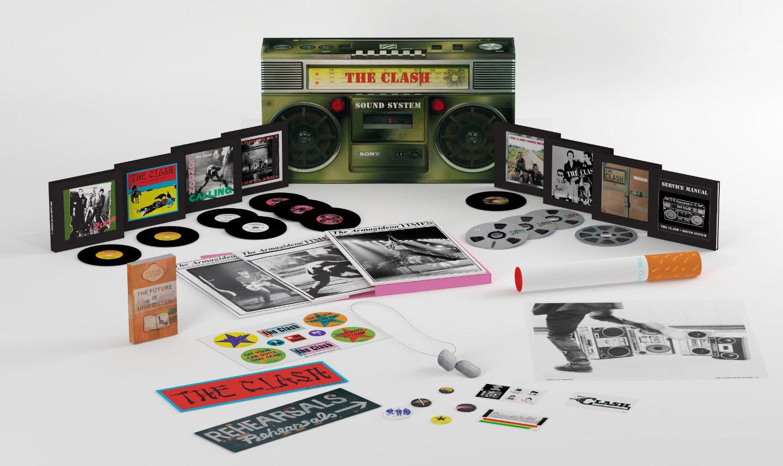 Coffret Intégrale The Clash Sound System Box (Edition Deluxe Limitée 11 CD + 1 DVD)