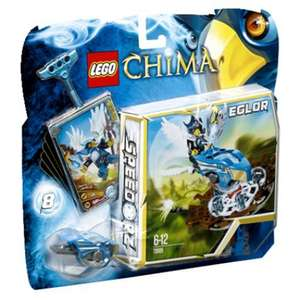 Lego Legends of Chima 70105 - Speedorz - Le piège du nid