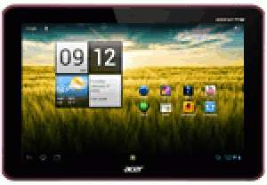 "Tablette Acer Iconia Tab A200 10,1"" Rouge 8 Go"