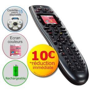 Télécommande universelle Logitech Harmony 700 avec code promo