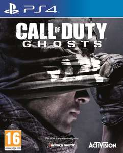 Jeu Call of Duty Ghosts sur PS4