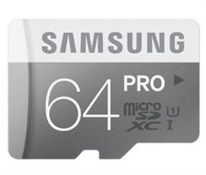 Carte MicroSD 64 Go Pro - Classe 10